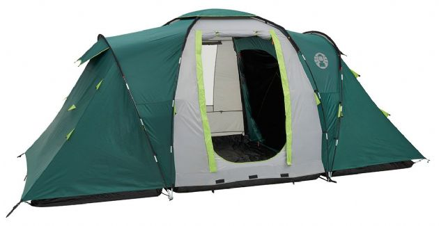 Coleman Spruce Falls 4 Family Camping Tent, Outdoor Camping Tent & Equipment - Grasshopper Leisure